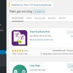 Hướng dẫn sử dụng plugin nhân bản bài viết Yoast Duplicate Post trong WordPress