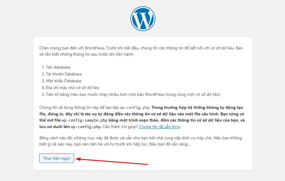 cài wordpress