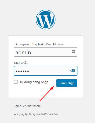 quản trị wordpress