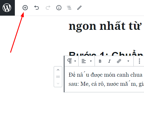 cách chèn hình vào bài viết wordpress