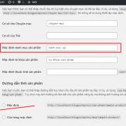 Cách xóa 'danh mục sản phẩm mặc định' khỏi đường dẫn danh mục sản phẩm WooCommerce