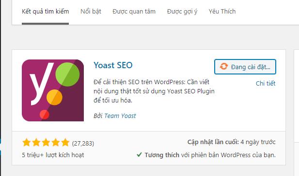 cài plugin wordpress