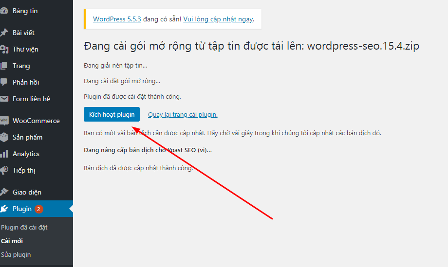 Hướng dẫn cài mới plugin WordPress dễ hiểu
