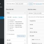 Bài 07 – Hướng dẫn cách tạo Menu trong WordPress