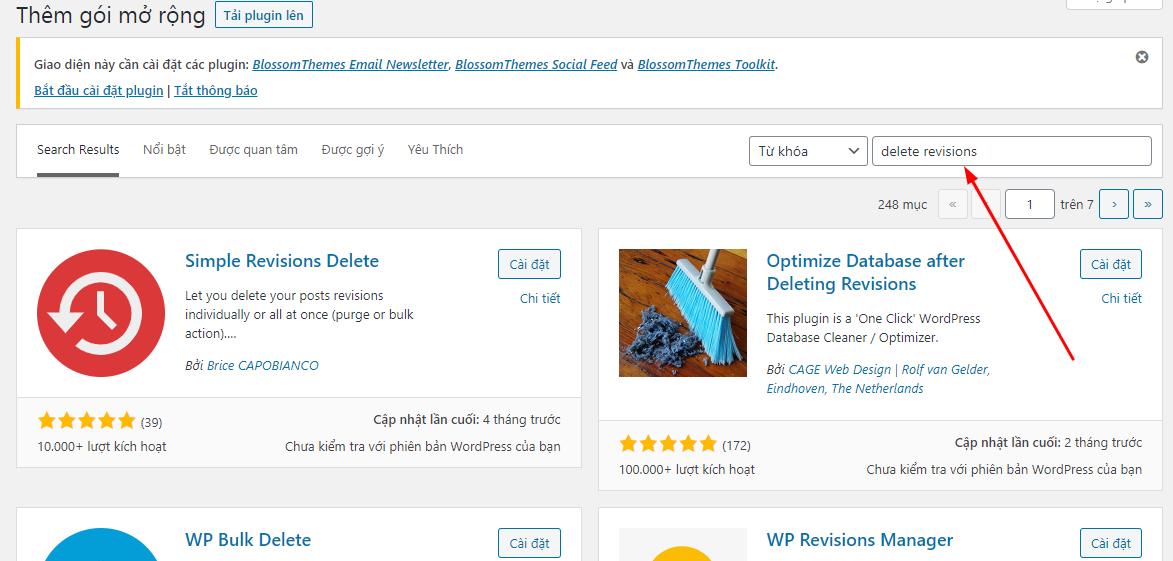 Hướng dẫn cách xóa tất cả các bản thảo Revisions trong WordPress