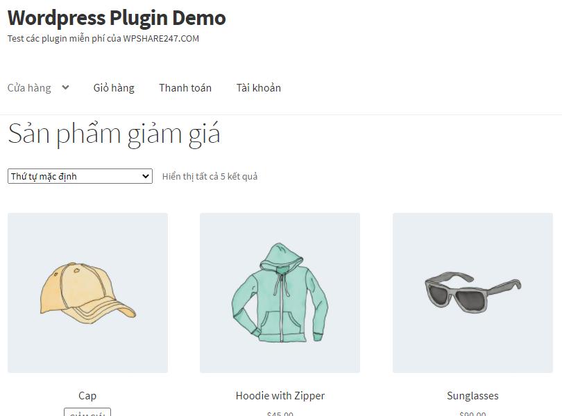 Lọc sản phẩm nổi bật, giảm giá WooCommerce trong trang Shop (Trang cửa hàng)