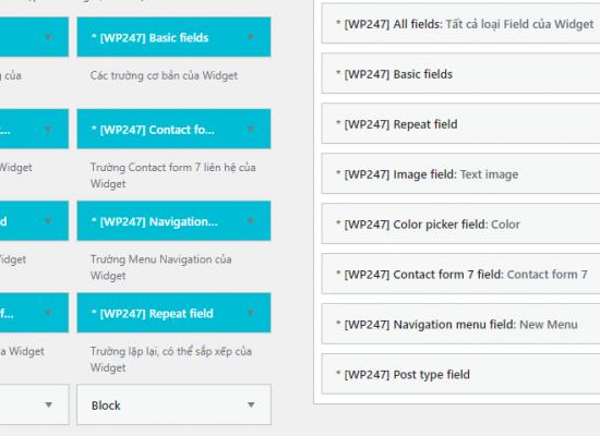 Hình plugin Bộ Source Widget WS247, giúp bạn rút ngắn thời gian Thiết Kế Website